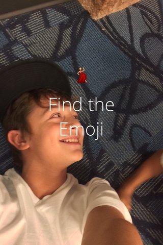 💃 Find the Emoji