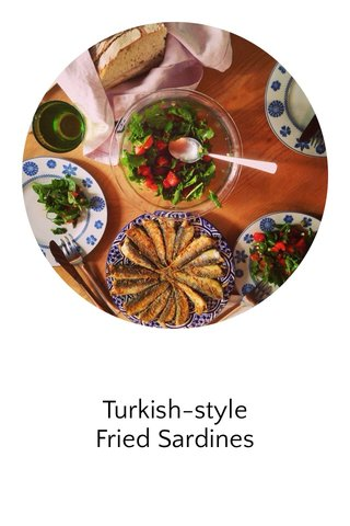 Turkish-style Fried Sardines
