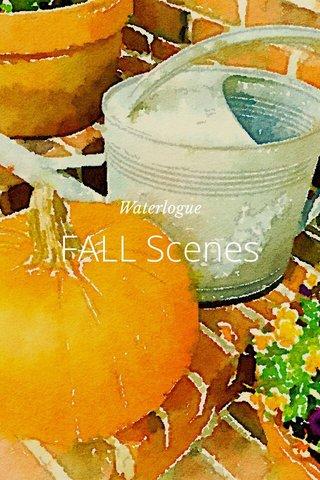 FALL Scenes Waterlogue