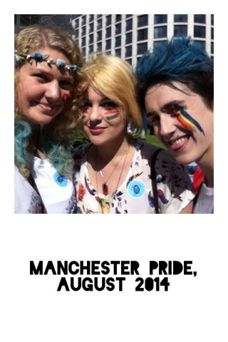 Manchester Pride, August 2014