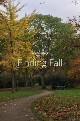 Finding Fall Germany