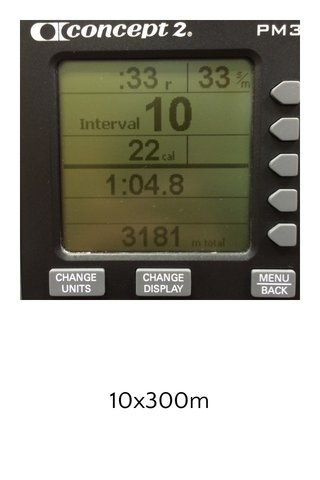 10x300m