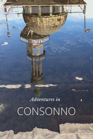 CONSONNO Adventures in