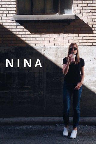 NINA #STELLERPERSON
