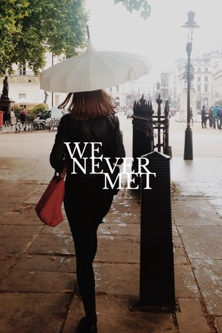 NEVER WE MET