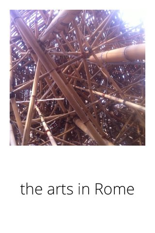 the arts in Rome