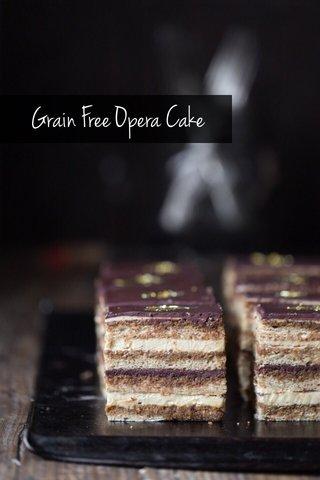 Grain Free Opera Cake