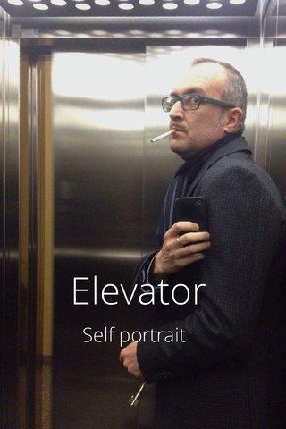 Elevator Self portrait