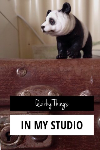 IN MY STUDIO Quirky Things