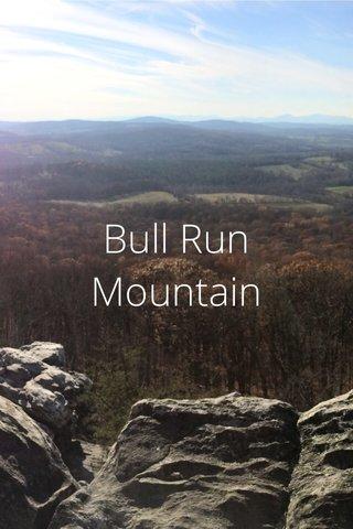 Bull Run Mountain