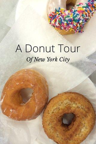 A Donut Tour Of New York City