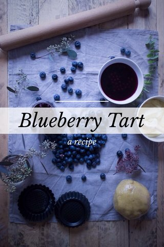 Blueberry Tart a recipe