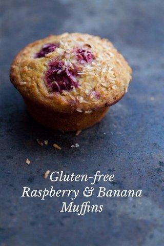 Gluten-free Raspberry & Banana Muffins