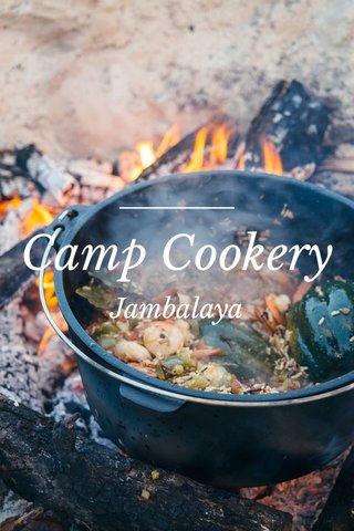 Camp Cookery Jambalaya
