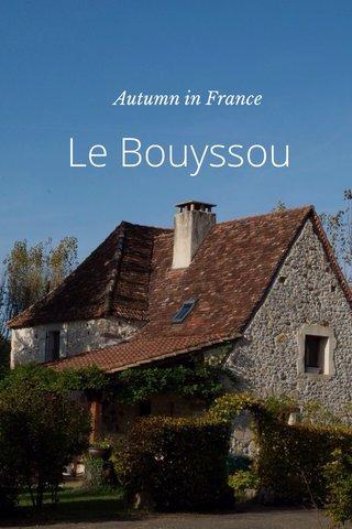 Le Bouyssou Autumn in France
