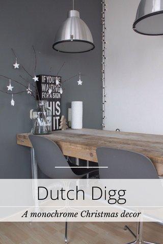 Dutch Digg A monochrome Christmas decor
