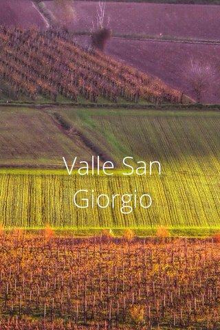 Valle San Giorgio