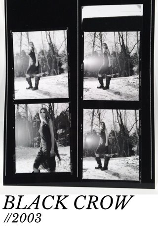 BLACK CROW //2003