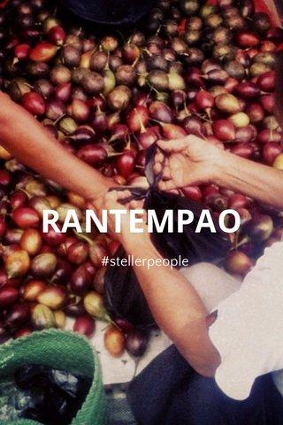 RANTEMPAO #stellerpeople