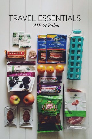 TRAVEL ESSENTIALS AIP & Paleo