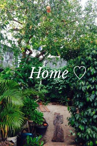 Home ♡