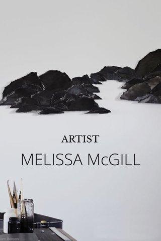 MELISSA McGILL ARTIST