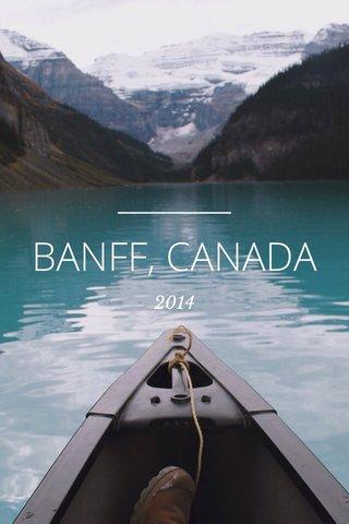 BANFF, CANADA 2014