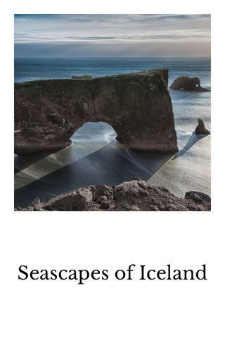 Seascapes of Iceland