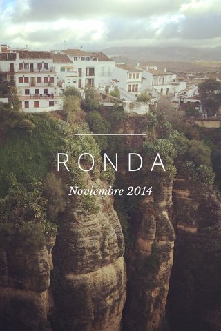 RONDA Noviembre 2014