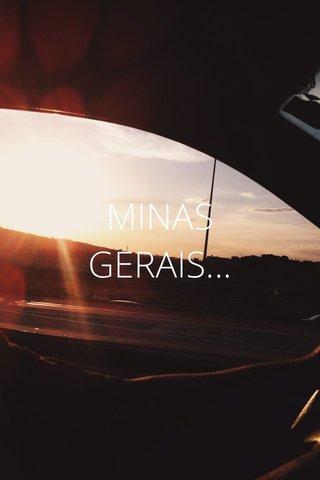 MINAS GERAIS...