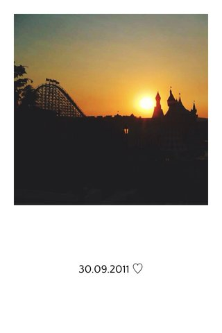 30.09.2011 ♡