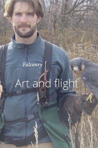 Art and flight Falconry