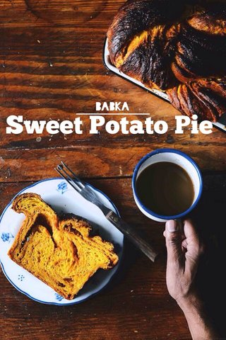 Sweet Potato Pie Babka
