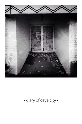 • diary of cave city •