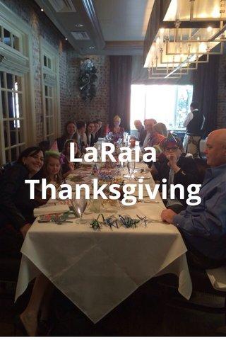 LaRaia Thanksgiving