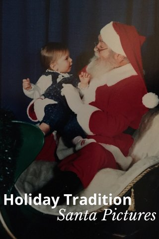 Holiday Tradition Santa Pictures