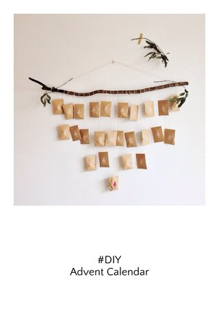 #DIY Advent Calendar