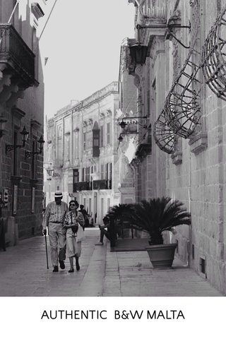 AUTHENTIC B&W MALTA
