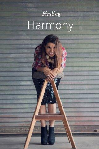 Harmony Finding