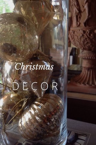 DECOR Christmas