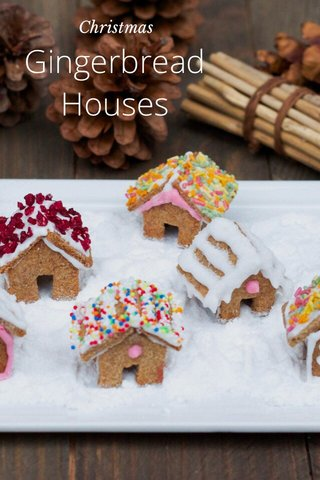 Gingerbread Houses Christmas