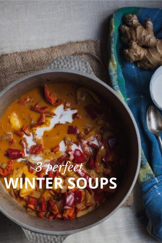 WINTER SOUPS 3 perfect