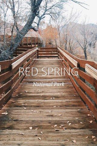 RED SPRING National Park