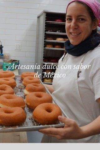 Artesanía dulce con sabor de México