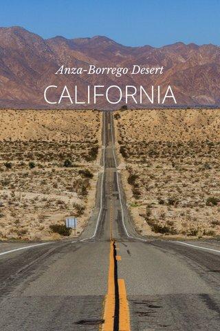 CALIFORNIA Anza-Borrego Desert