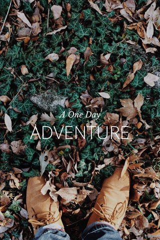 ADVENTURE A One Day