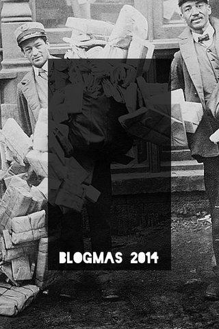 Blogmas 2014