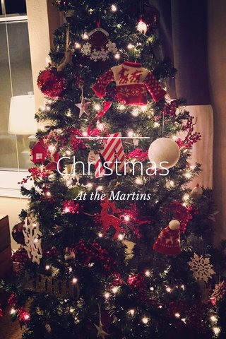 Christmas At the Martins