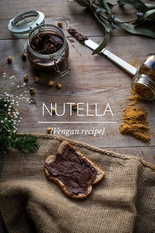 NUTELLA {Vengan recipe}