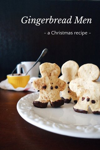 Gingerbread Men - a Christmas recipe -